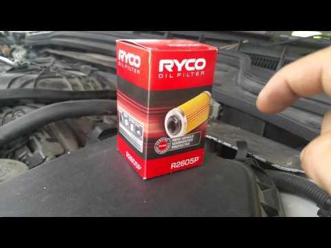 Holden Commodore VE Sportwagon oil change notes.