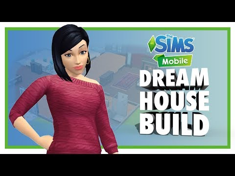 BUILDING A DREAM HOUSE IN THE SIMS MOBILE | Gamescom 2017 Early Access