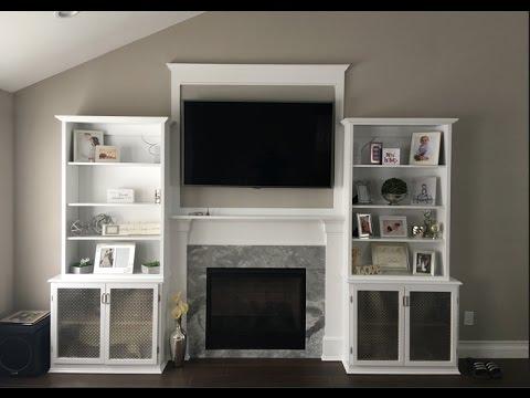 Fireplace Mantel Surround pt. 3