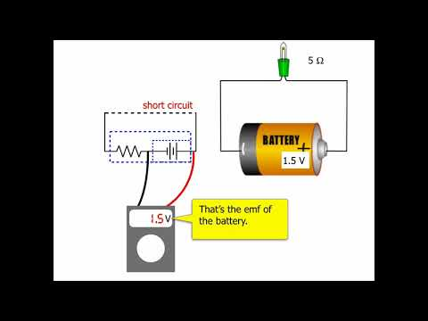 Modeling Batteries - Internal Resistance