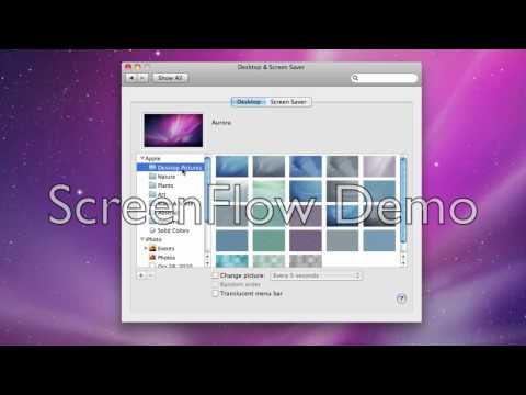 How to change your desktop picture for iMac