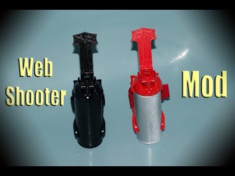 Mod your Web Shooters