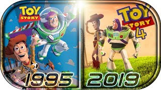 EVOLUTION of TOY STORY Movies, Ads, Cartoons (1995-2019)🙉 Toy Story 4 Official Teaser Trailer 2019