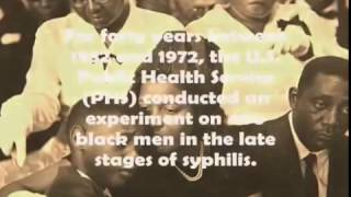10 Evil Experiments Done On African Americans