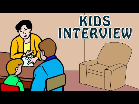 Kids Interview | Learn How to give Interview for Schools