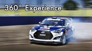 Red Bull Global Rallycross 360° POV Experience
