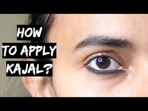 Lakme Absolute काजल कैसे लगाएं जिससे वो फैले नहीं |How to Apply Thick Kajal to Make It Smudge Proof?