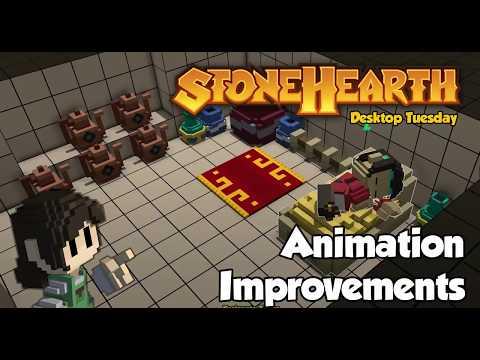 Stonehearth Desktop Tuesday: Animation Improvements