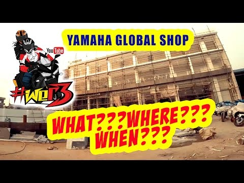WER3 | YAMAHA GLOBAL SHOP | RIDE TO FIND OUT