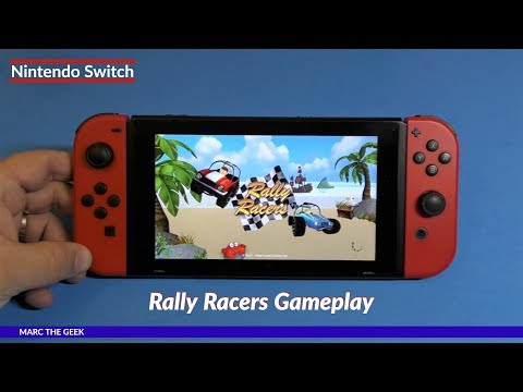 Nintendo Switch: Rally Racers Gameplay