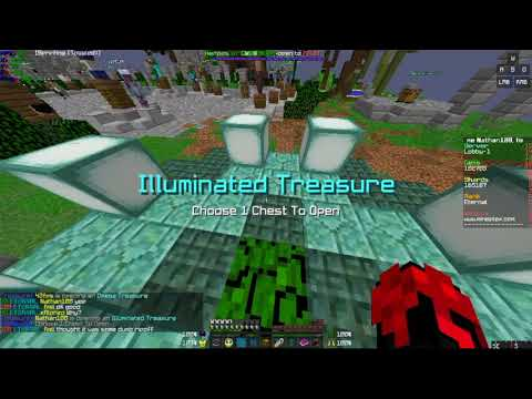 Minecraft Mineplex - Chest Opening - 16 Mythicals, 8 Illuminated, 4 Omega Chests