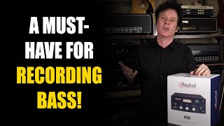 A Must-Have for Recording Bass! | Radial HDI