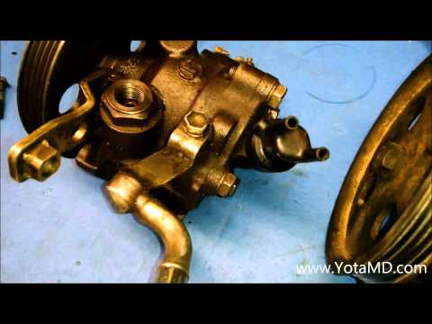 YotaMD.com - MK3 Supra Power Steering Pump Differences