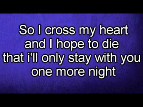 Maroon 5 - One More Night (Lyrics)