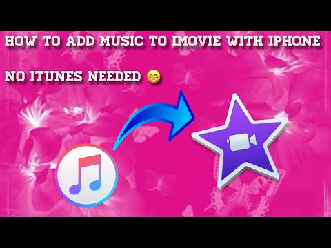 How to add background music, sound effect to iMovie with iPhone without the use of iTunes || 2018