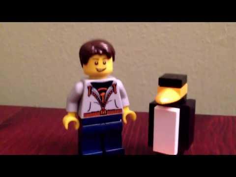 Tutorial on Building a Lego Penguin