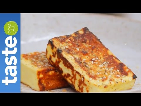 How to grill haloumi on the BBQ