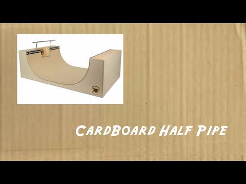 Cardboard DIY - Half Pipe