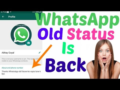 How to get Old WhatsApp Status BACK | WhatsApp Rolls Back Old Status Feature