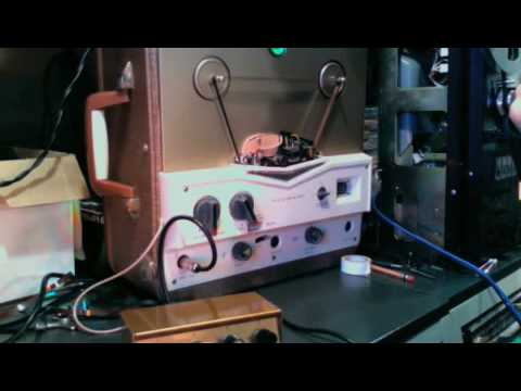 HOMEMADE Delay - Tube Reel to Reel Tape Delay- Webcor Regent - part 2. what mixer to use?