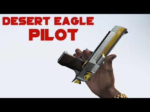 CS:GO / Desert Eagle | Pilot | Factory New Skin Showcase / 1440p60