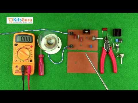 AC Motor Speed Controller by KitsGuru.com | LGKT111