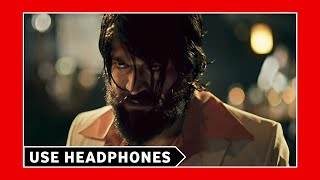 KGF Theme BGM (8D AUDIO) - Background Song | Yash | 3D Surrounded Songs