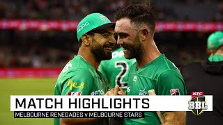 Maxwell blasts Stars to derby victory over winless Renegades   KFC BBL 09