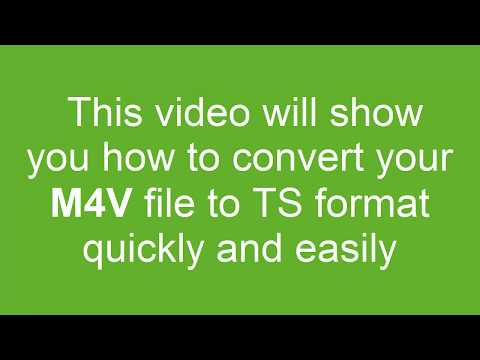 How to Convert M4V to TS
