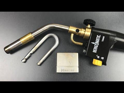 [677] Plumber's Torch Opens Master Lock M530