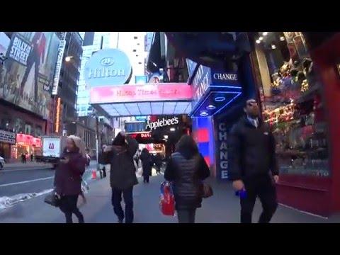 New York: PABT  - Times Square Tour (Morning)
