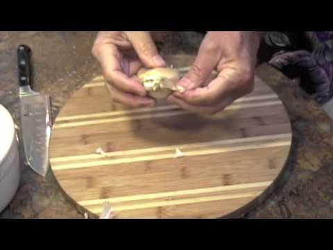Preparing - Best Tomatillo-Chipotle Salsa part 1