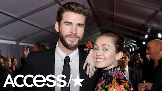Miley Cyrus Dances In Her Wedding Dress With New Hubby Liam Hemsworth