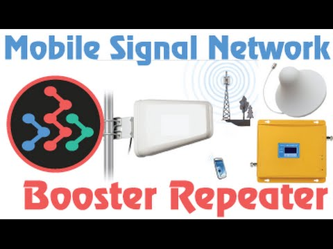 Mobile Phone Network 3G Signal Booster Repeter in Bangladesh
