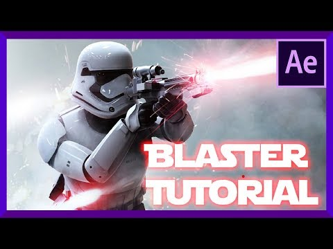 Star Wars BLASTER TUTORIAL - Adobe After Effects
