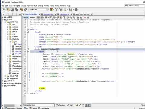 Calling php API functions from jQuery ajax - Part 1