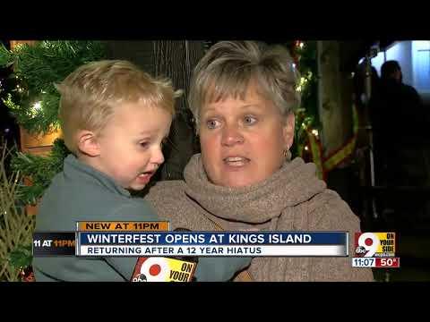 Winterfest open at Kings Island
