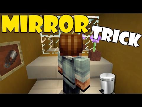 MIRROR TRICK | Minecraft PE (Pocket Edition) MCPE