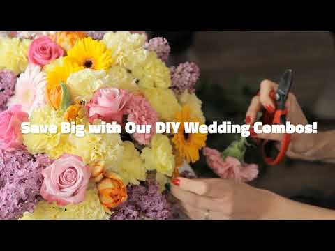 Make Beautiful Wedding Bouquets and Fresh Flower Centerpieces.