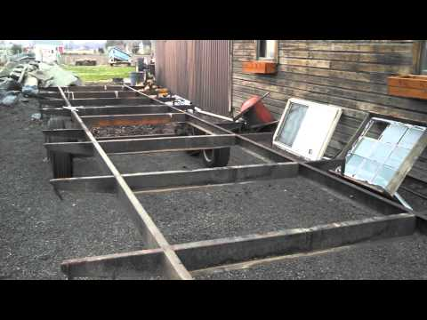 Tiny House Trailer Frame