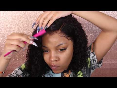 Cutting Myself a Curly Bob | Lavy Hair
