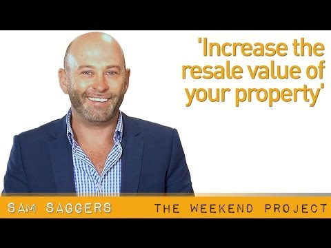 Increase the resale value of your property  - 06 June 2014