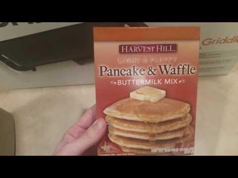Dollar Tree Pancake / Waffle Mix REVIEW!!!