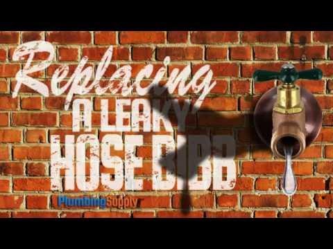 Replacing a Leaky Hose Bibb