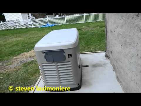 Generac whole house generator install part 2 of 6