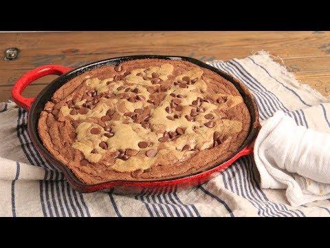 Skillet Brookie (Brownie Cookie) Recipe Episode 1233
