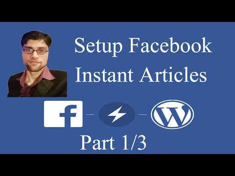 How to Setup Facebook Instant Articles for Wordpress in urdu hindi