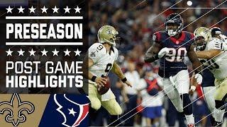 Saints vs. Texans | Game Highlights | NFL