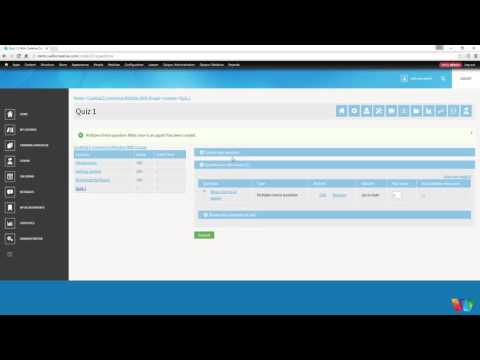 Sell Courses On Your Own Website Built With Drupal - (Part 12) Creating Quizzes