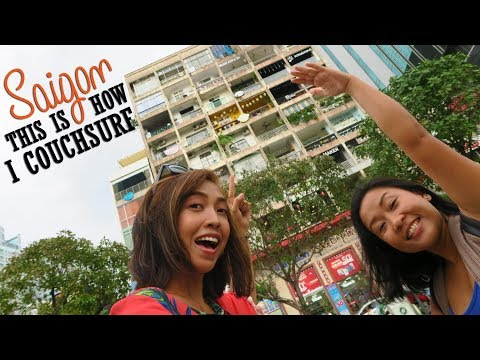 This is How I Couchsurf | Saigon